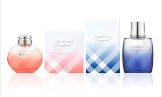 "Burberry Limited ""Summer"" Fragrances for Men and Women"