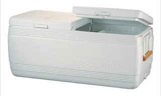 Coleman 150 Qt. Heritage Cooler with Rope Pulls