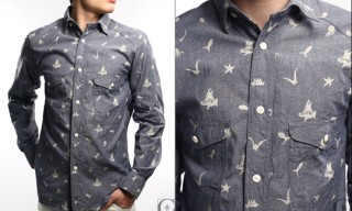 Haversack Chambray Nautical Shirt