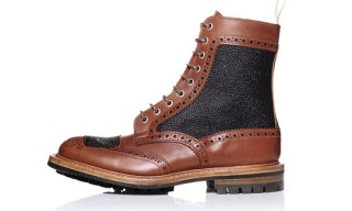 Kurt Geiger x Tricker's Two-Tone Brogue Boot