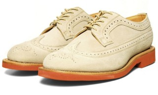 Mark McNairy Stone Suede Brogues