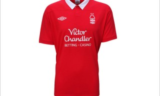 Umbro for Nottingham Forest 2011/2012 Home
