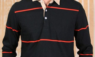 Rogues Gallery Pencil Stripe Rugby Shirt