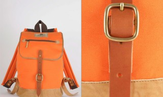 Seil Marschall Orange Backpack