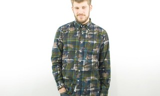 Sophnet Camouflage Print Shirt