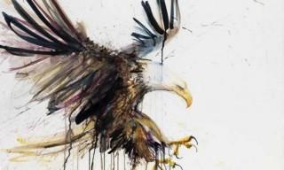 "Dave White ""Eagle"" Print"