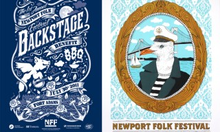 Newport Folk Festival 2011 Limited Posters