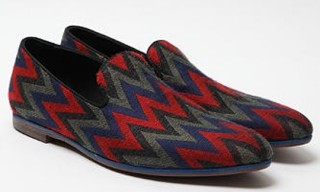 Acne Slip Print Loafer