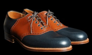 Alden For Unionmade Bal Saddle Oxford