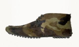 Car Shoe Camouflage Chukka Boot