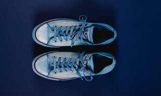 Tenue de Nîmes Indigo-dyed Chuck Taylor All Star