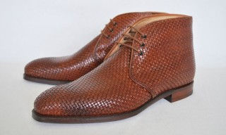 Crockett & Jones Woven Chukka Boot