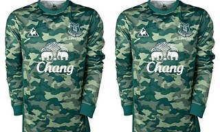 Everton FC 2011/2012 Home Kit by Le Coq Sportif