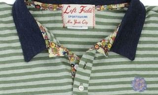 Left Field Polo Shirts with Liberty Print Lining.