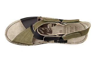 Capsule BLN | Po-zu for Maharishi Leather Hemp Boot Spring 2012