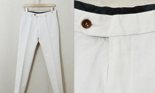 Nitty Gritty Off-White Trousers