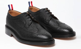Thom Browne Scotch Grain Wingtip Brogues