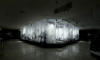 Bokushi Installation at Isetan Japan