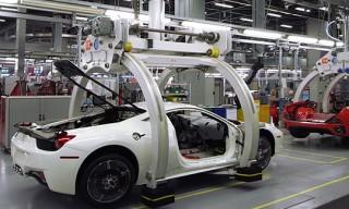 Ferrari Factory Assembly Line Tour