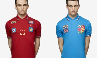 Sir Peter Blake for Fred Perry Polo Shirts