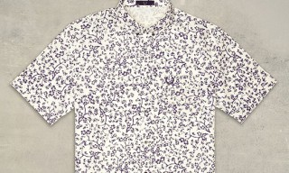 Fred Perry Laurel Wreath Collection Origami Print Shirts