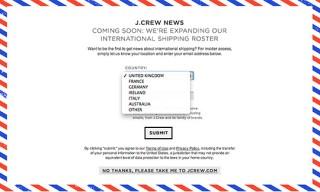 J. Crew International Comes Closer