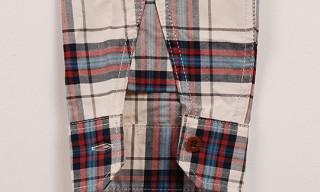Junya Watanabe MAN Cotton Panel Check Shirt