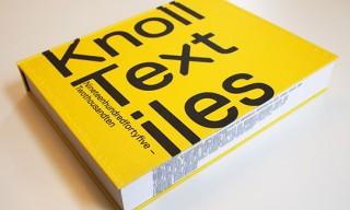 """""""Knoll Textiles, 1945-2010"""" Book"""