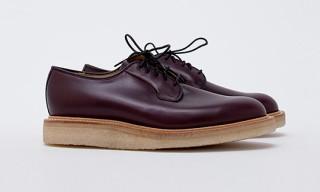 Our Legacy Derby Shoe Burgundy Shoes for Tres Bien Shop