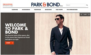 Park & Bond (aka GILT Men's Retail) Is Now Online