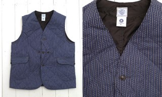 Post O'alls Calico Vest