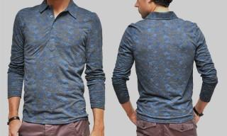 TOPMAN Floral Polo Shirt