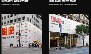 "UNIQLO ""Pops Up"" Shops in New York City"