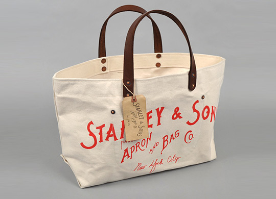 Stanley and Sons Canvas Tote Bag | Highsnobiety
