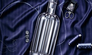 ABSOLUT Vodka Pinstripe Crystal Decanter