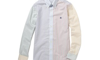 Brooks Brothers Mixed Stripe Oxford Shirt