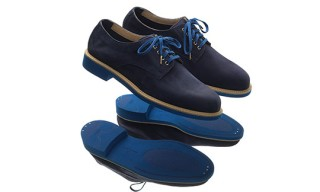 Cole Haan, Theophilus London Blue Suede Buck Shoes