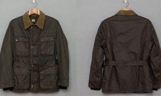 C.P Company Wax Field Jacket