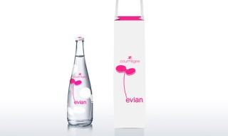 Courrèges for Evian Bottled Water