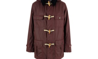 Gloverall Burgundy Duffle Coat