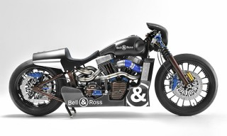 Bell & Ross and Harley-Davidson Racing Motorcycle
