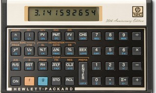 HP 12c Scientific Calculator 30th Anniversary Edition