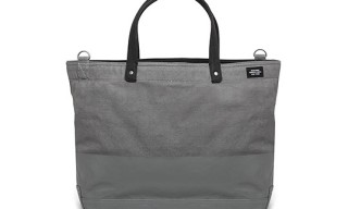 Jack Spade Industrial Canvas Dipped Coal Bag