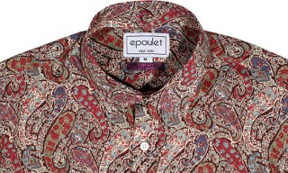 Epaulet, Liberty London Paisley Shirt