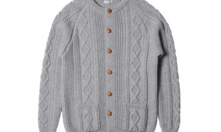 Margaret Howell Aran Cardigan