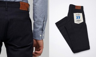 Raleigh Denim for Need Supply Indigo Dyed Canvas Trousers