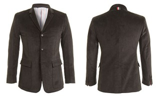 Thom Browne Corduroy Two-Button Sports Coat
