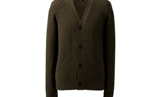 +J Heavy Gauge V Neck Cardigan