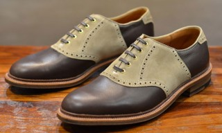 Alden Milkshake Saddle for Leather Soul