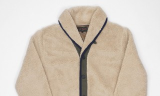 Beams Plus Fleece Cardigan